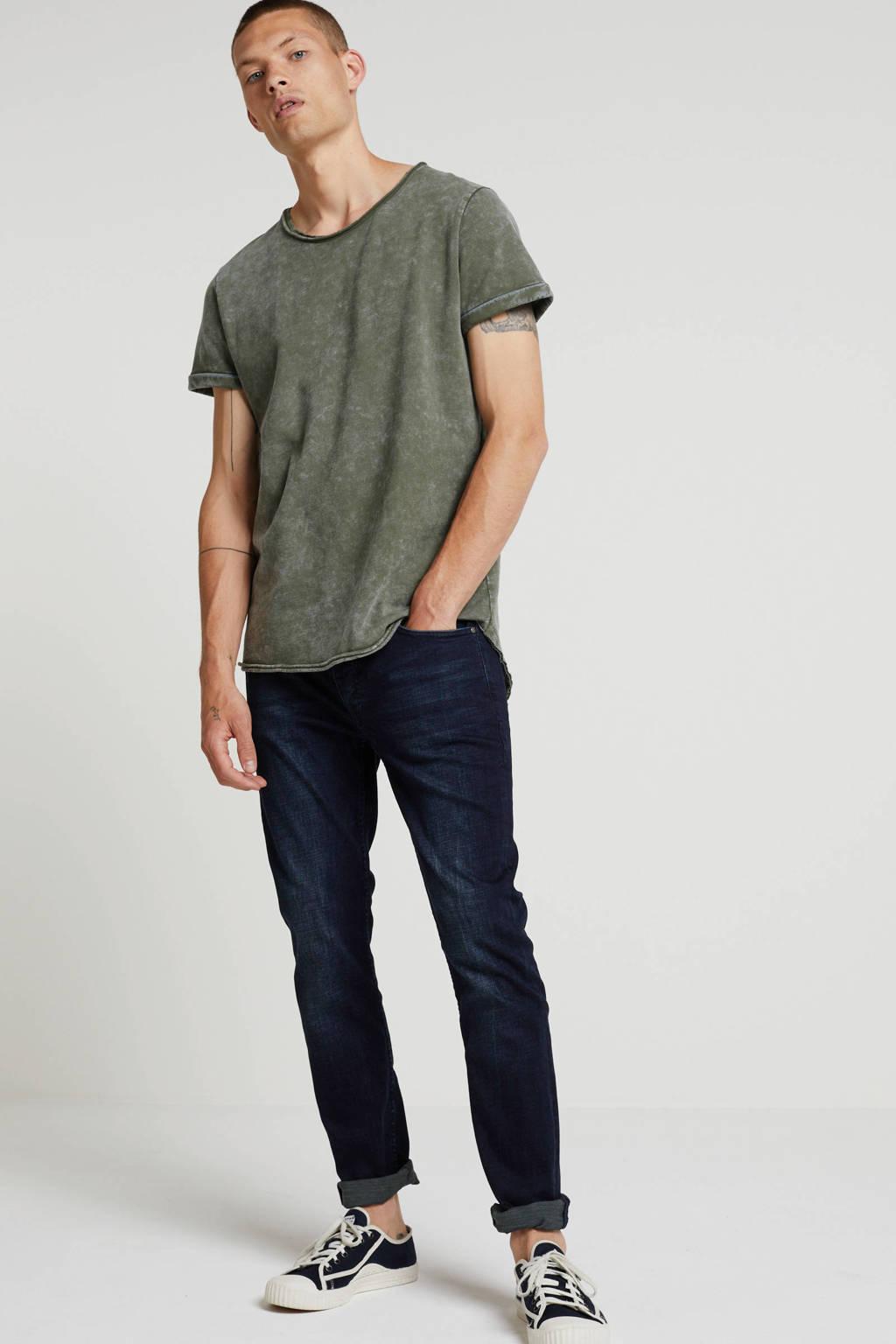 Tigha slim fit jeans Morty dark blue, Dark Blue