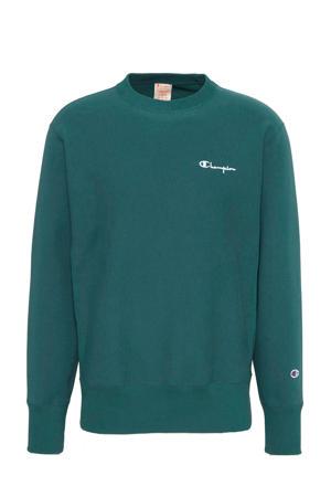 trui met logo groen
