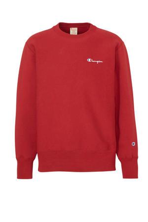 trui met logo rood
