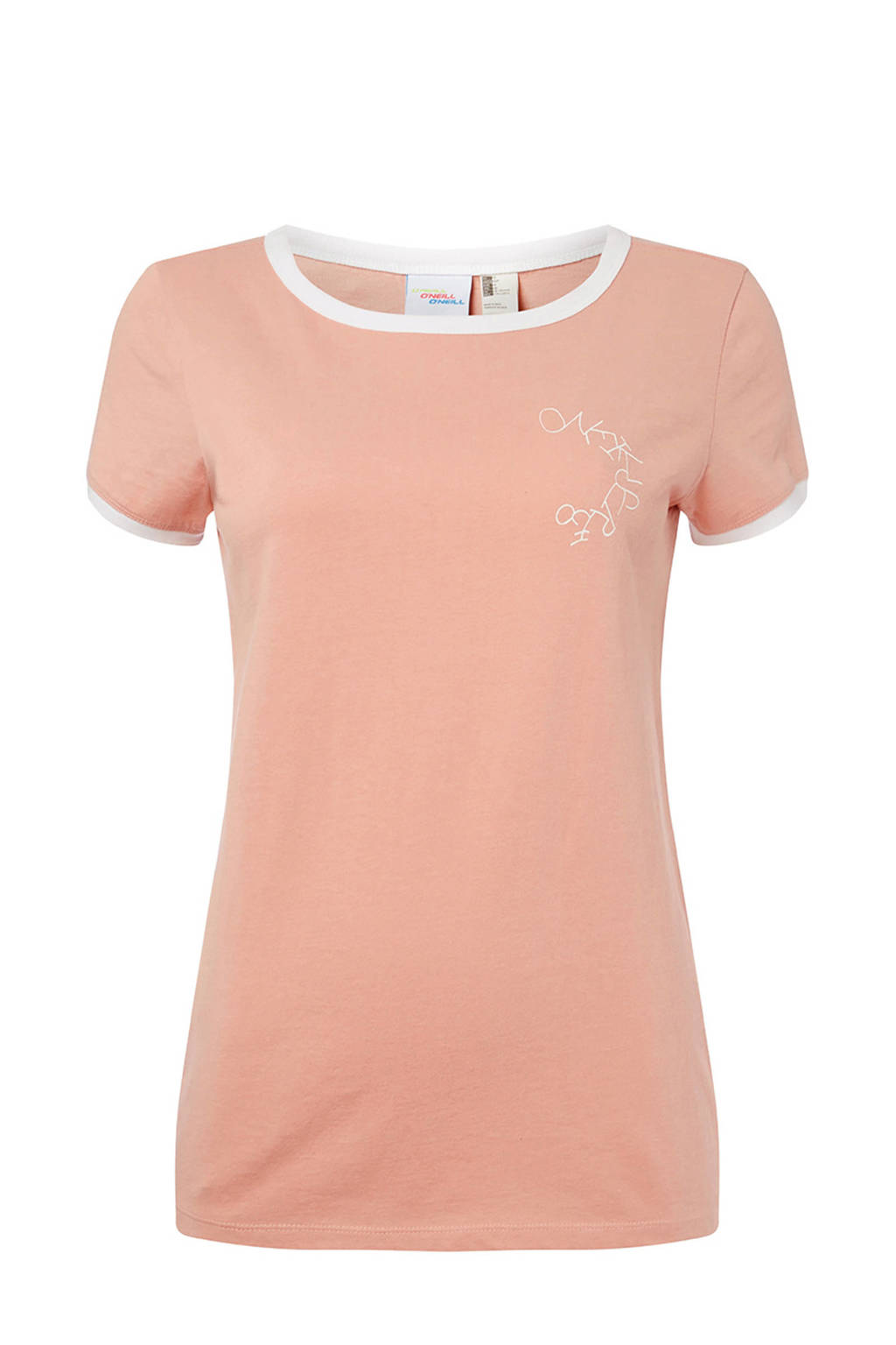 WE Fashion T-shirt vintage pink, Vintage Pink