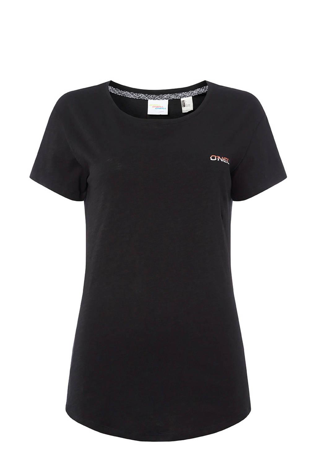 O'Neill T-shirt met printopdruk zwart, Zwart
