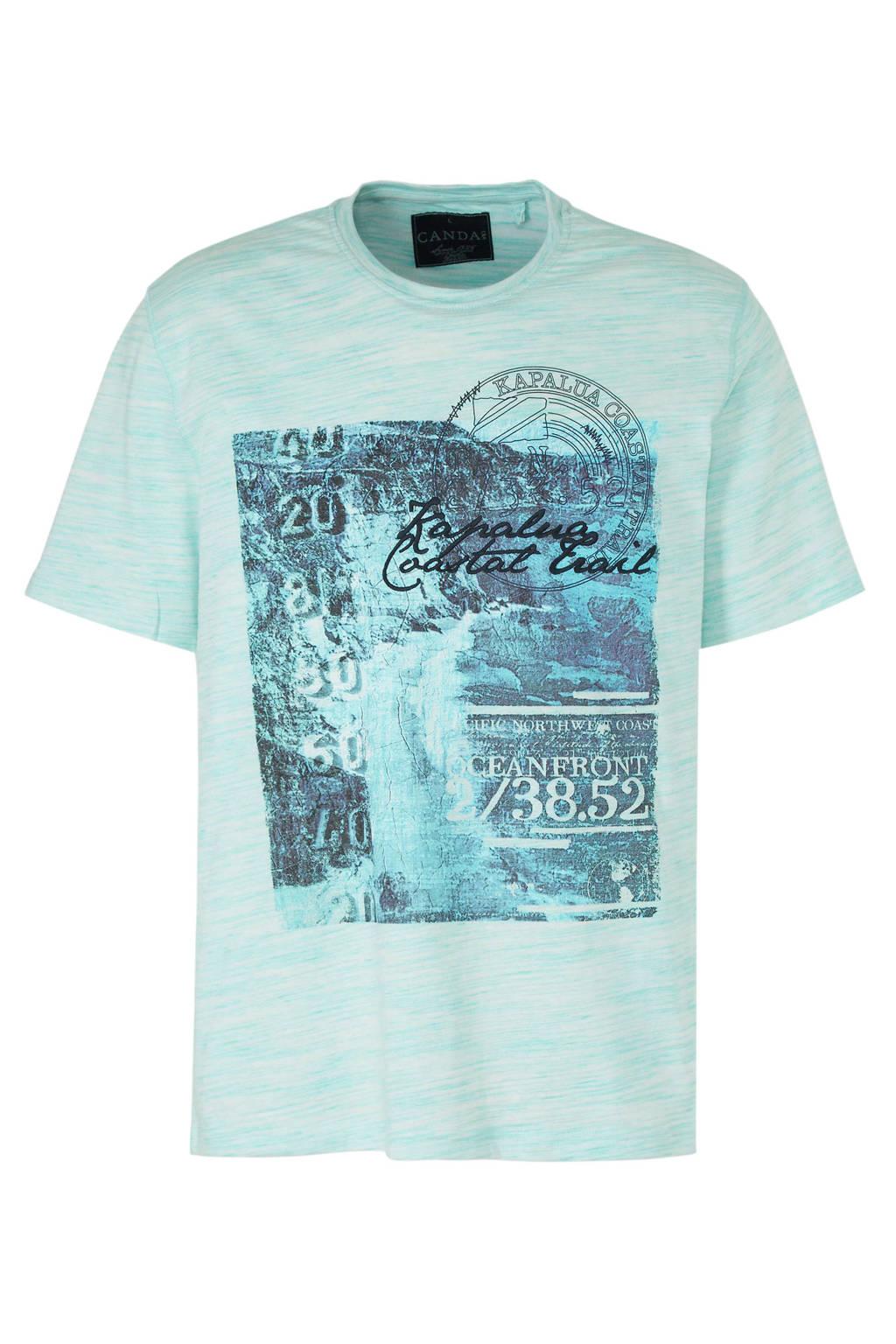C&A Canda T-shirt met printopdruk, lichtbauw