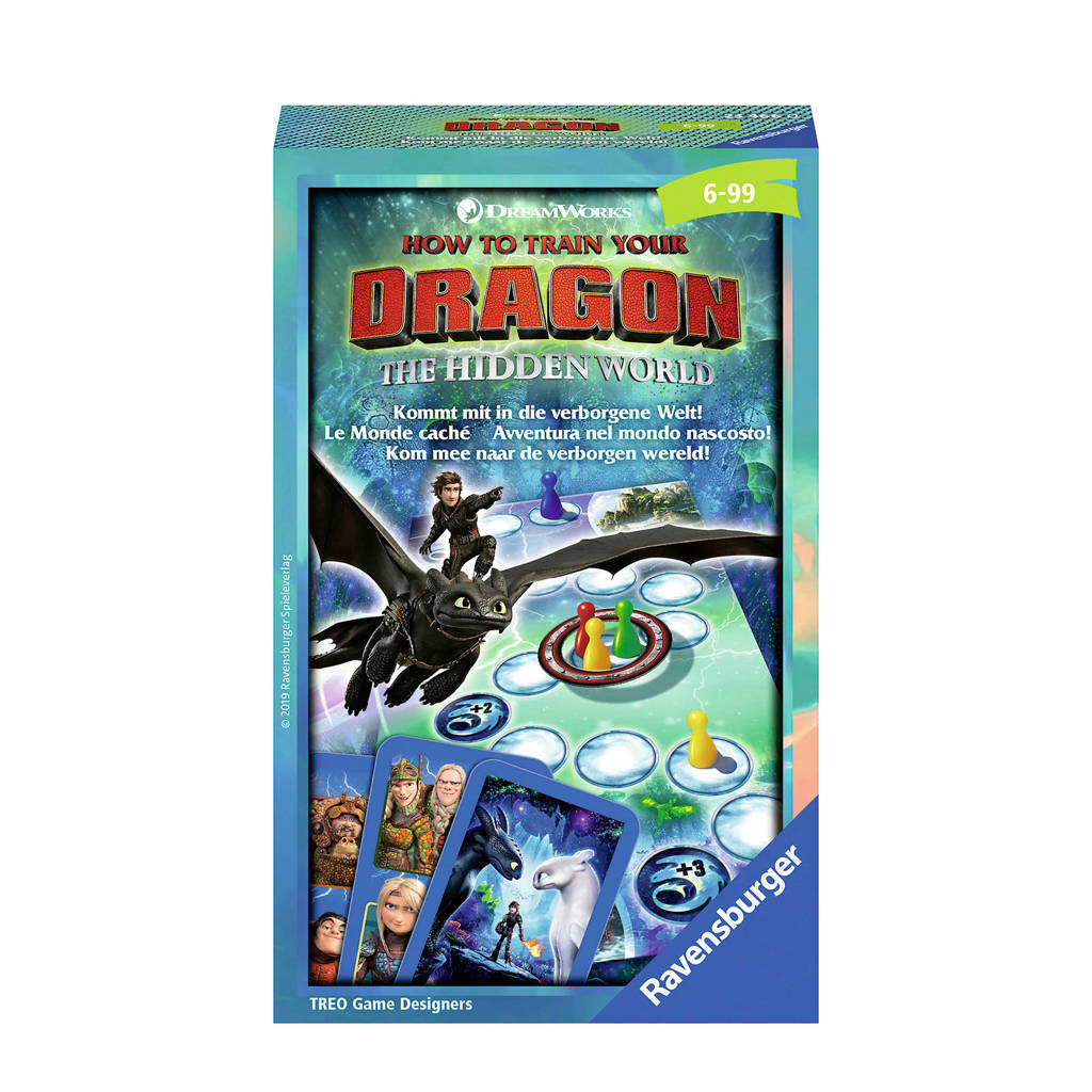Ravensburger Dragons 3 pocketspel kinderspel