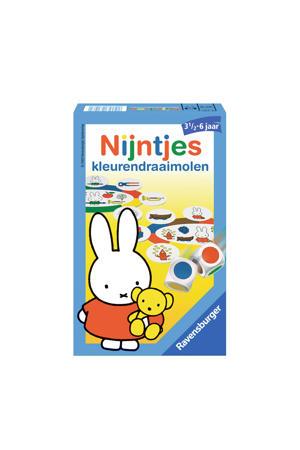 Nijntjes kleurendraaimolen kinderspel