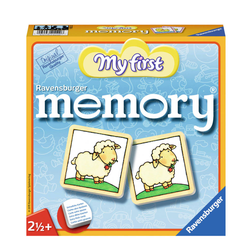 Ravensburger My first My First memory kinderspel