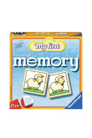 My first My First memory kinderspel