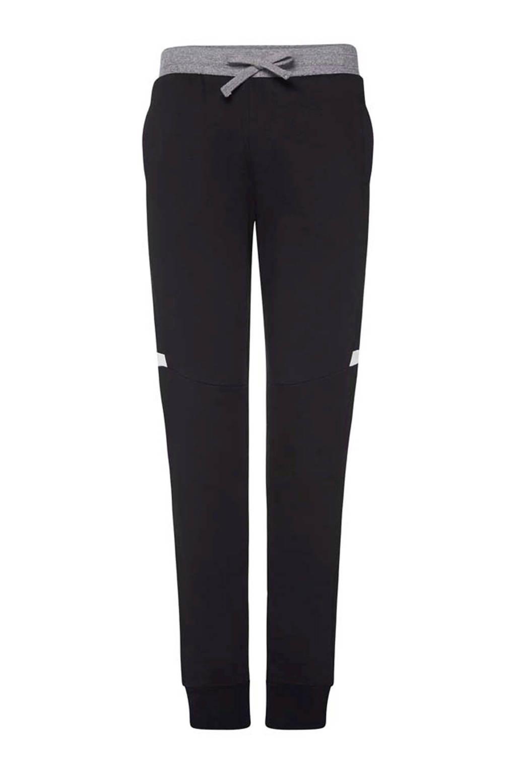 Charlie Choe joggingbroek Relax zwart, Grijs/zwart/wit