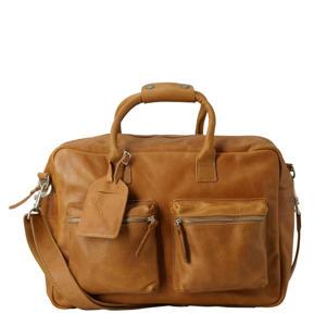 15.6 inch leren tas The College Bag bruin