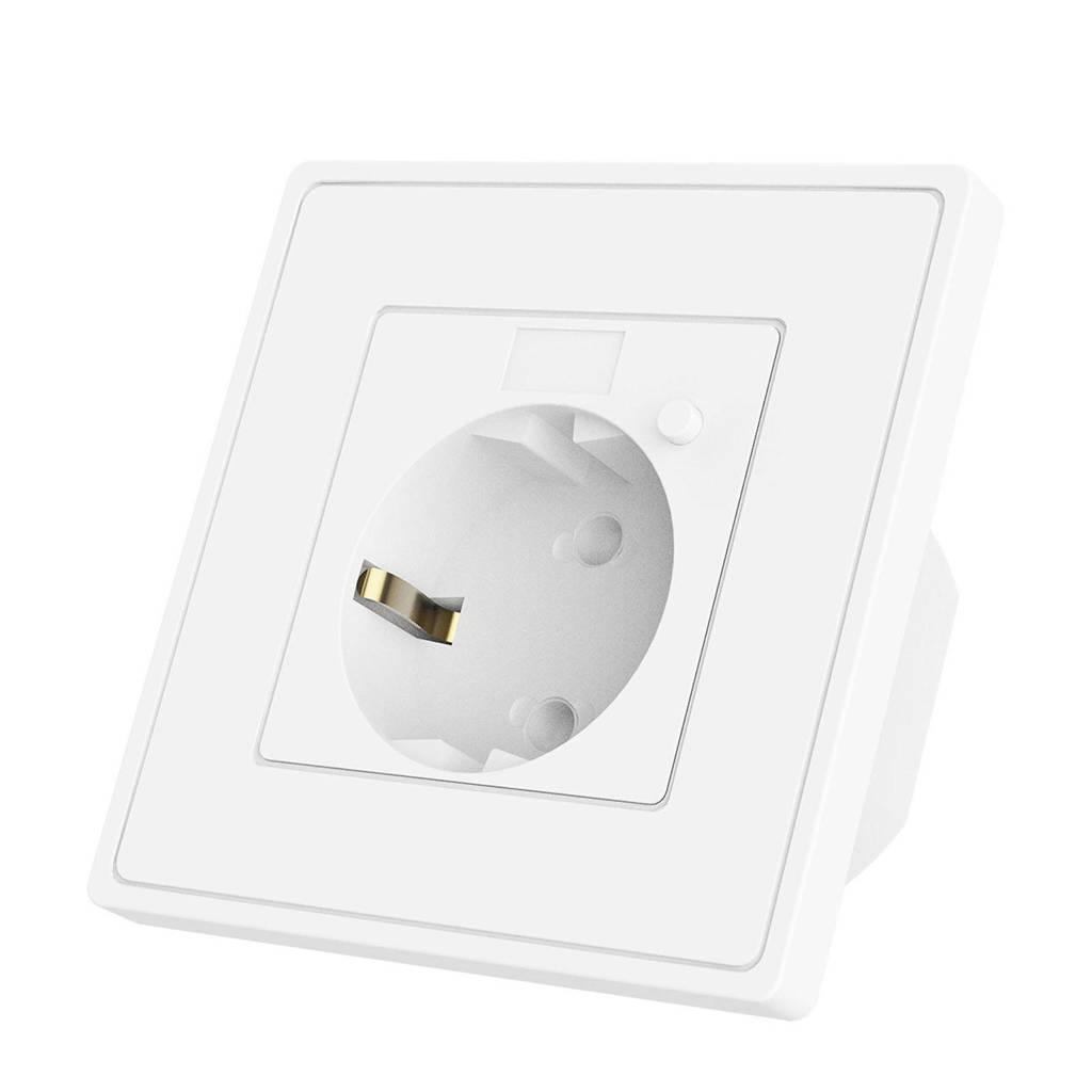 WOOX  smart stopcontact, Wit