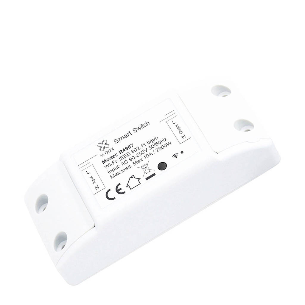 WOOX  smart switch, Wit