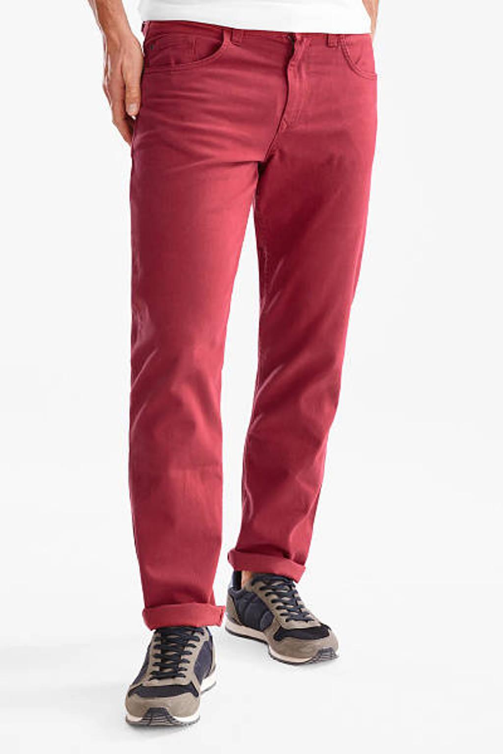 C&A Canda regular fit broek, Rood