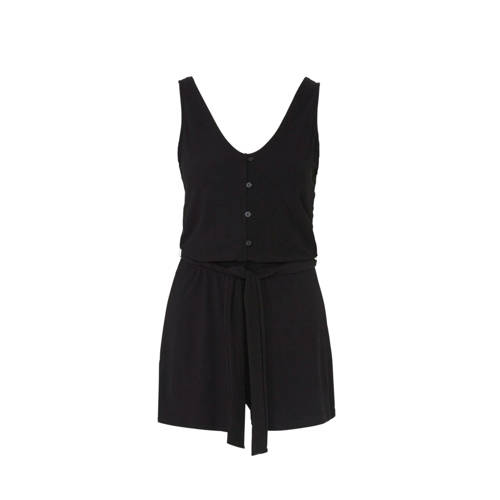 Mango playsuit zwart