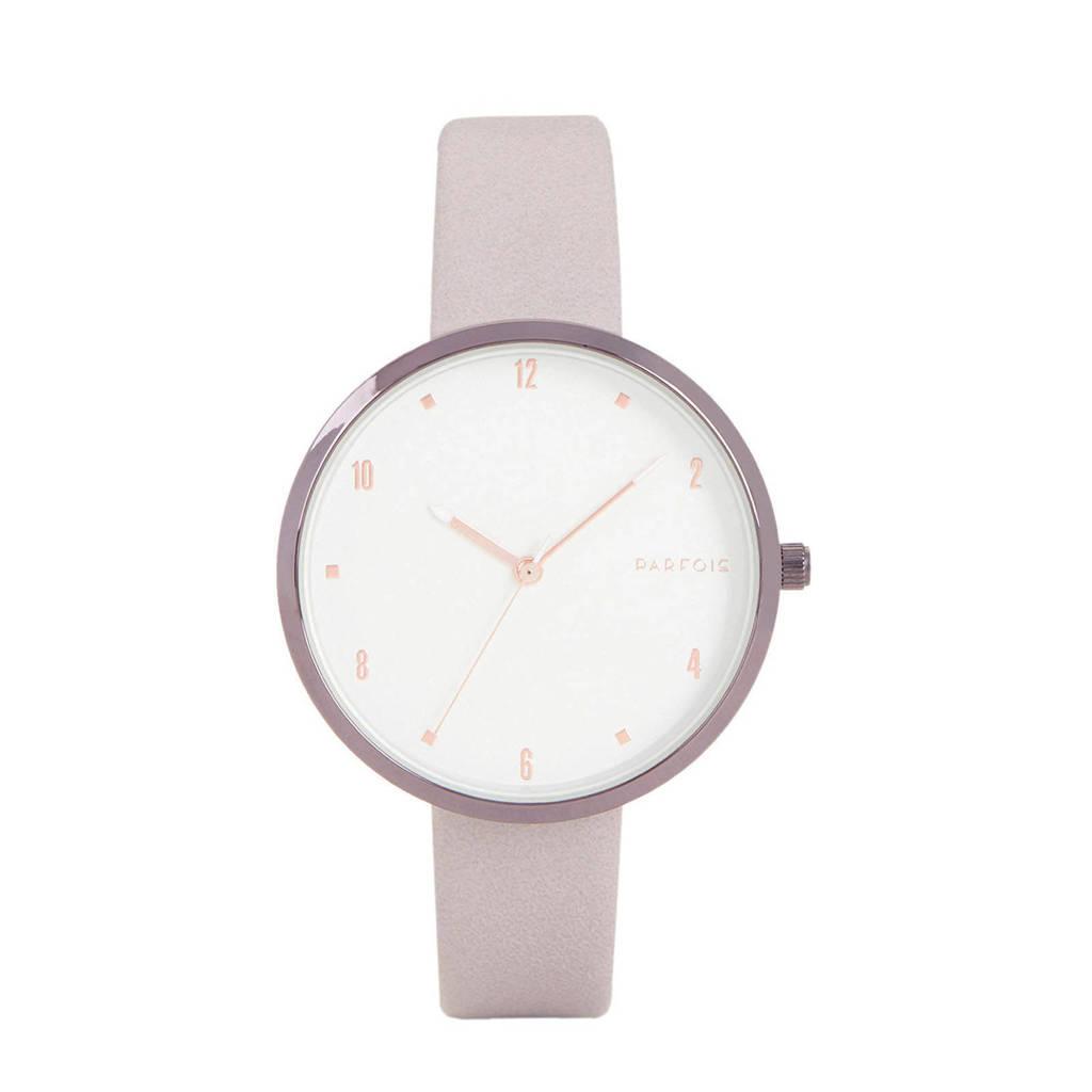 Parfois horloge lila, Lila