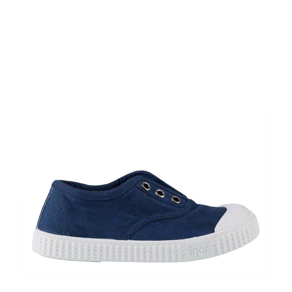 Igor   Berri sneakers donkerblauw, Donkerblauw
