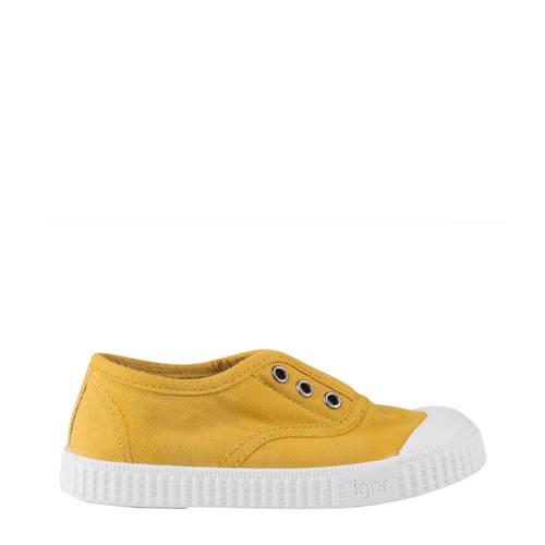 Igor Berri sneakers okergeel