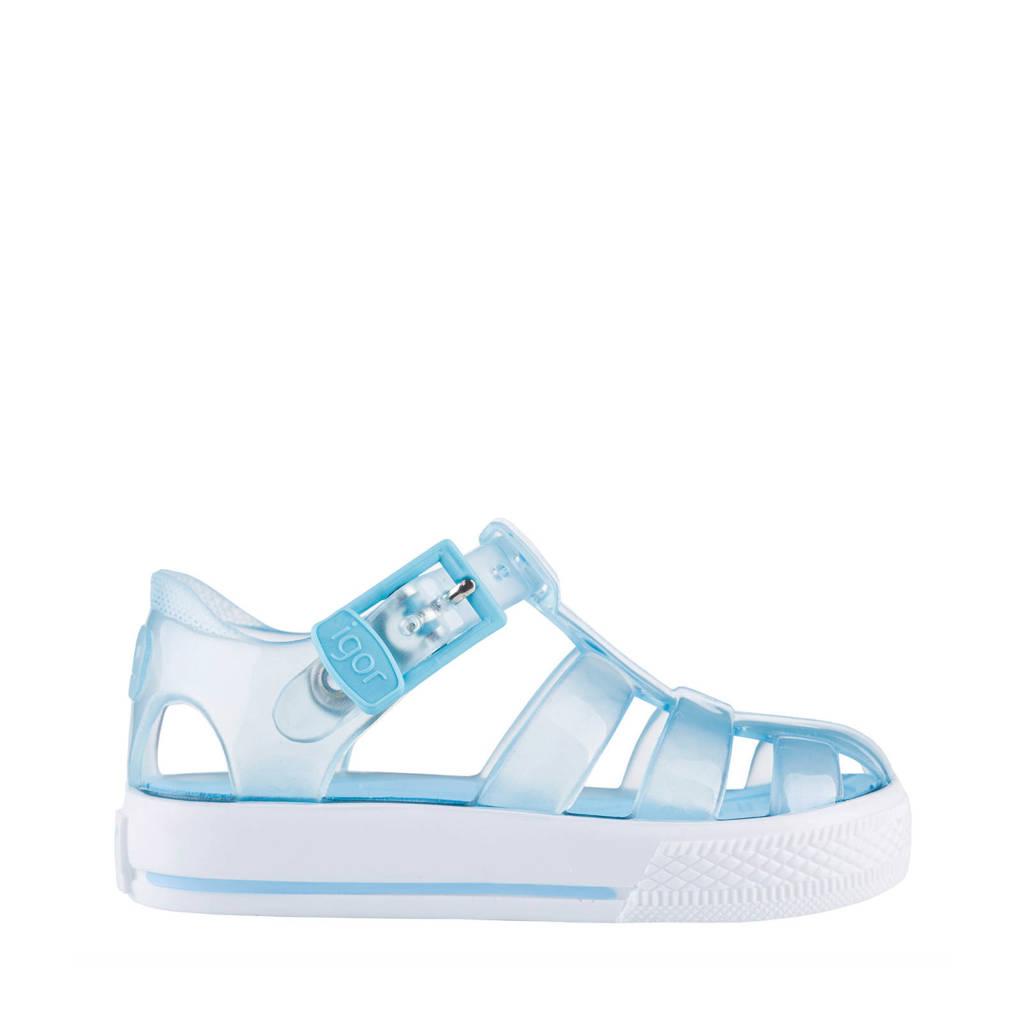 Igor   Tenis waterschoenen lichtblauw kids, Lichtblauw