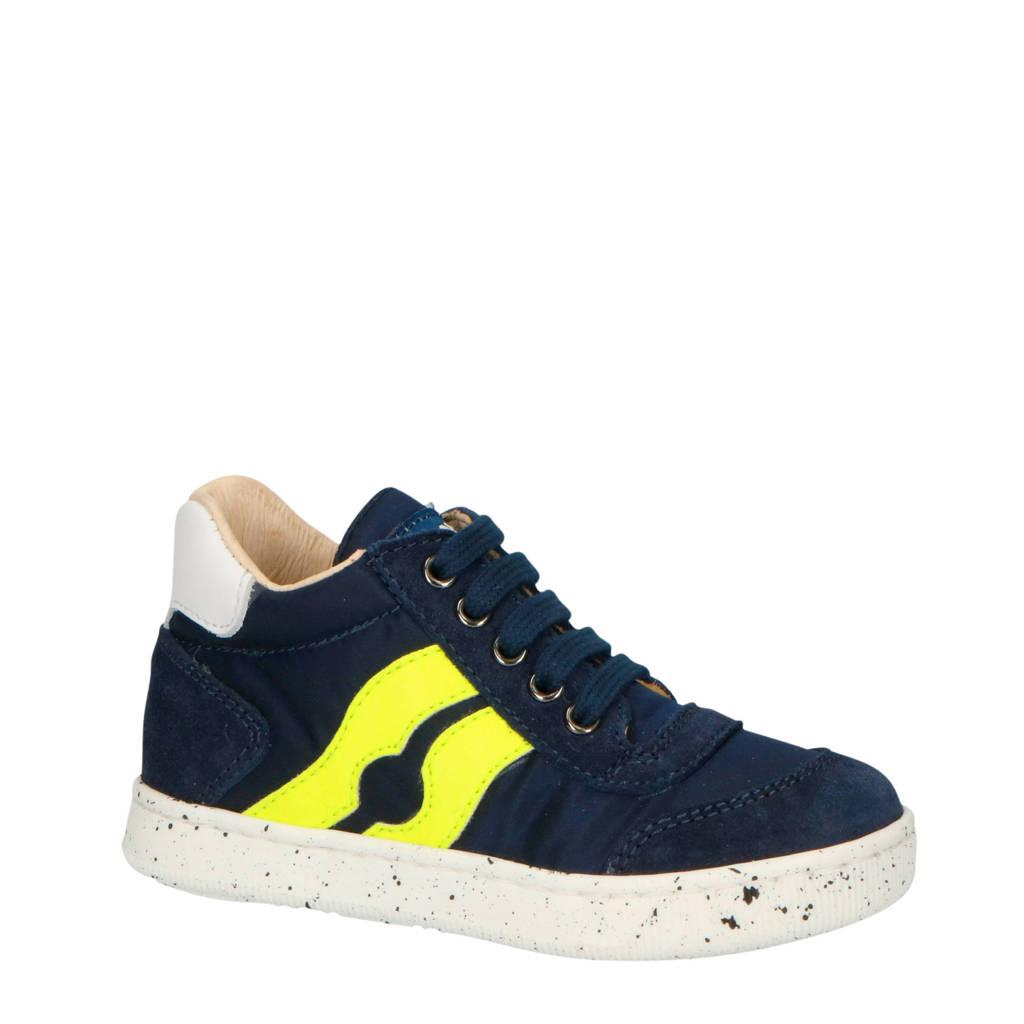 Falcotto Vega  sneakers blauw/geel, Blauw/geel