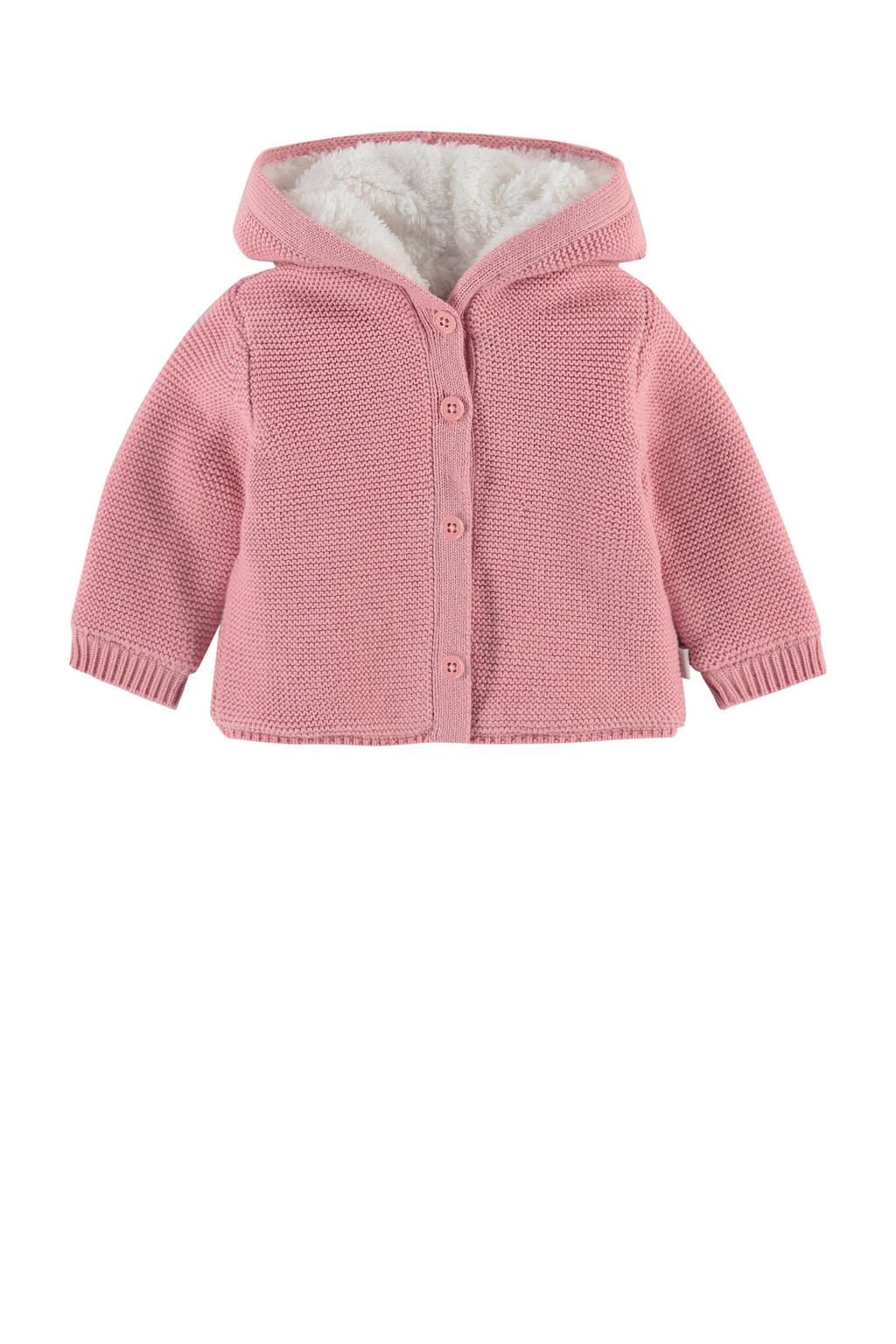 Noppies baby borgvest Cookeville roze, Roze