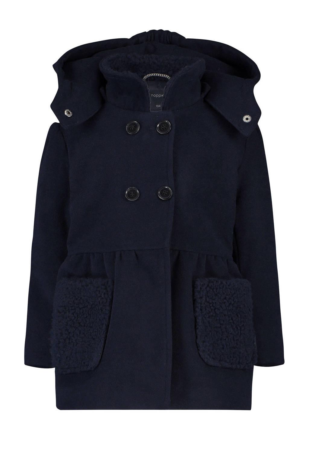 Noppies winterjas Bettendorf donkerblauw, Donkerblauw