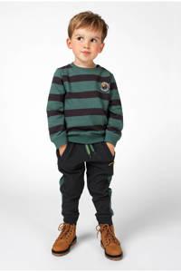 Noppies gestreepte sweater Bountiful groen/zwart, Groen/zwart