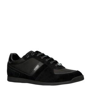 Glaze suède sneakers zwart