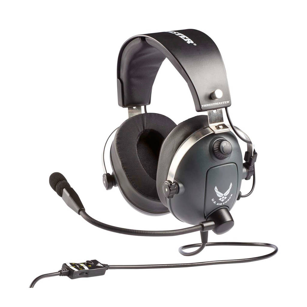 Thrustmaster  gaming headset T.Flight U.S. Air Force Edition, Zwart