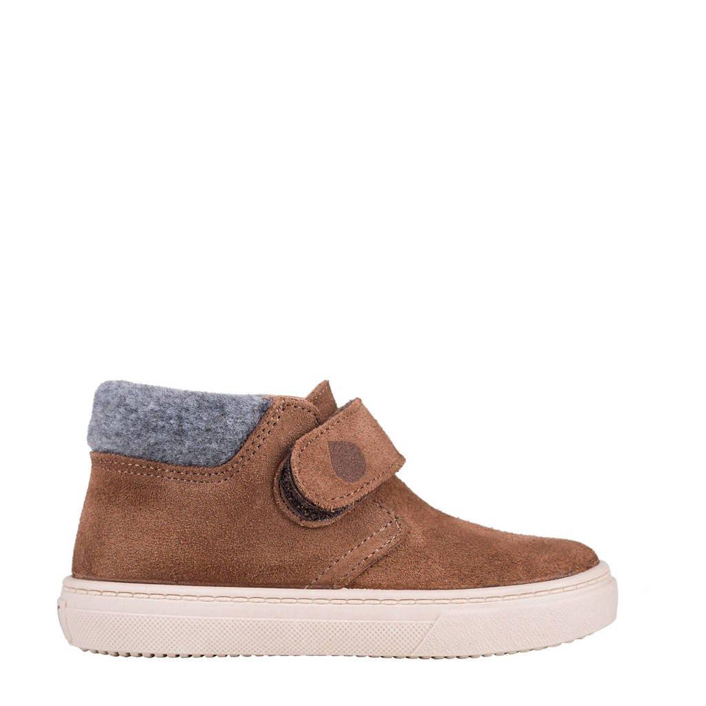 Igor W10198  halfhoge suède sneakers bruin, Bruin