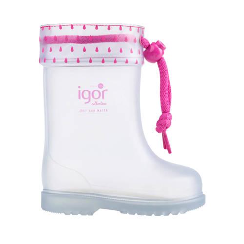 Igor regenlaarzen roze
