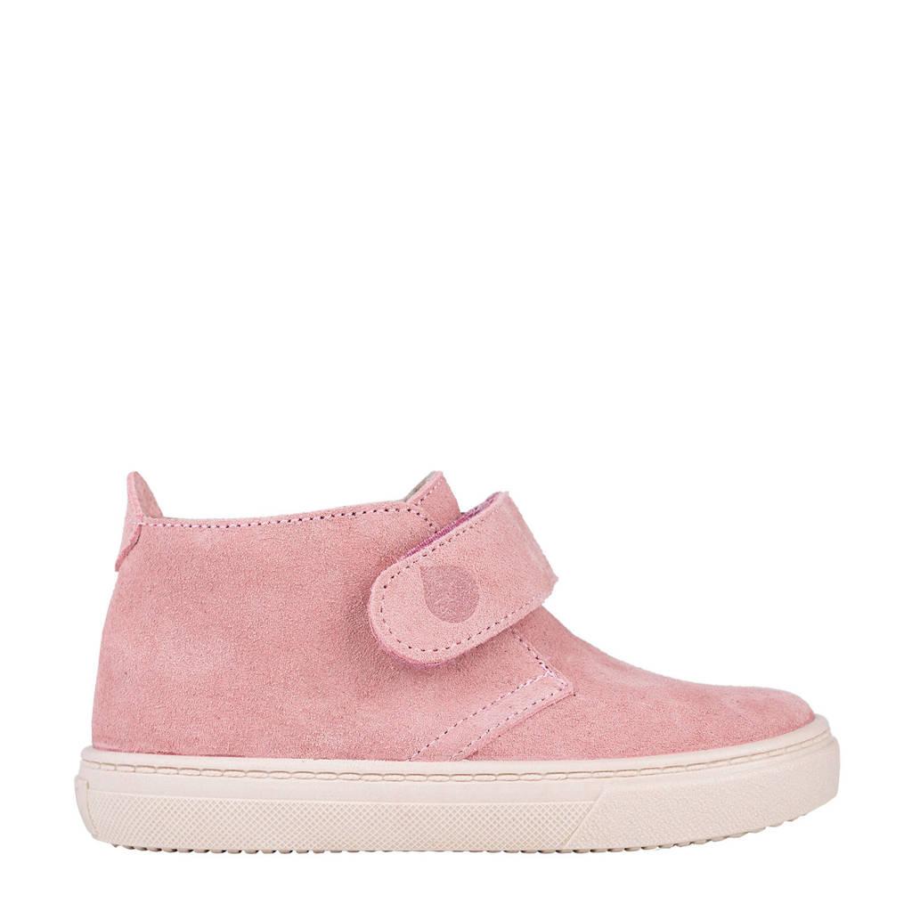 Igor W10196  suède sneakers roze, Roze