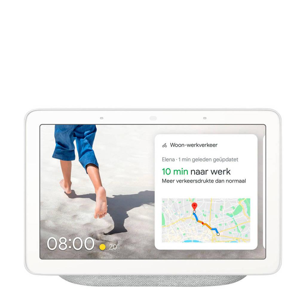 Google HUB Nest smart speaker met scherm, Grijs