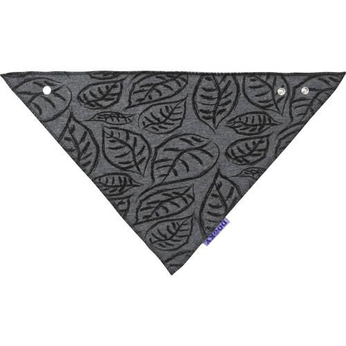 Dooky bandana slab donkergrijs-zwart
