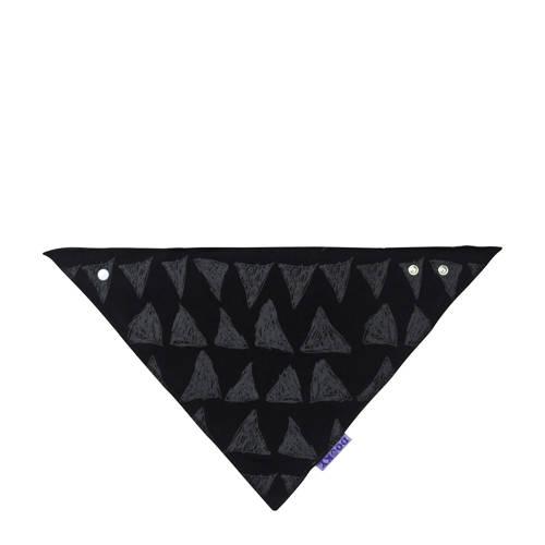 Dooky bandana slab zwart-grijs