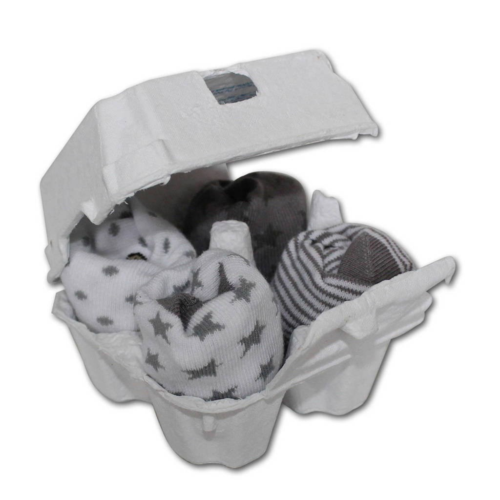 Soggs babysokjes 4-12 maanden grijs, Zilver