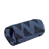Dooky autostoel armkussen blauw/zwart, Blauw/zwart