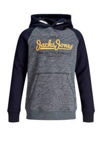 JACK & JONES JUNIOR hoodie met tekst marine, Marine