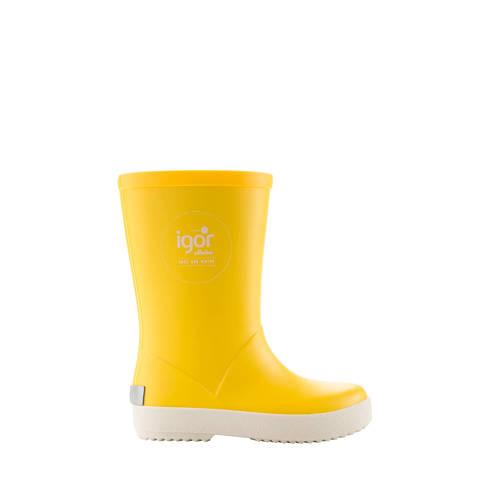 Igor regenlaarzen geel kids