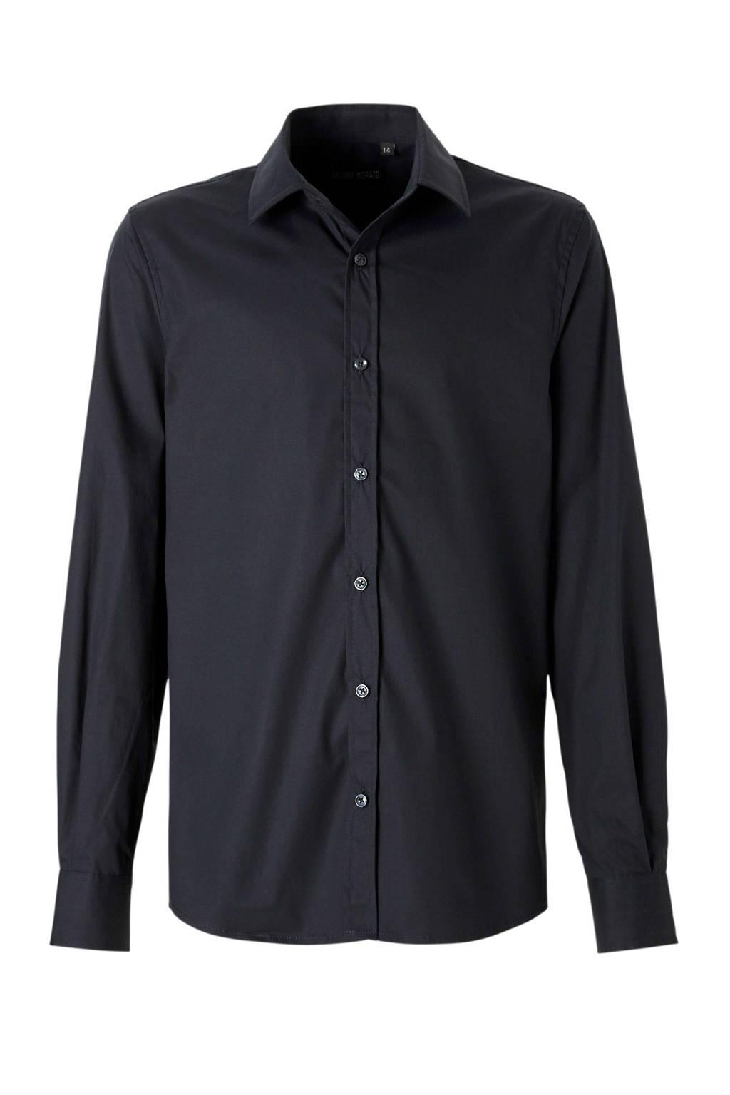Antony Morato overhemd donkerblauw, Donkerblauw
