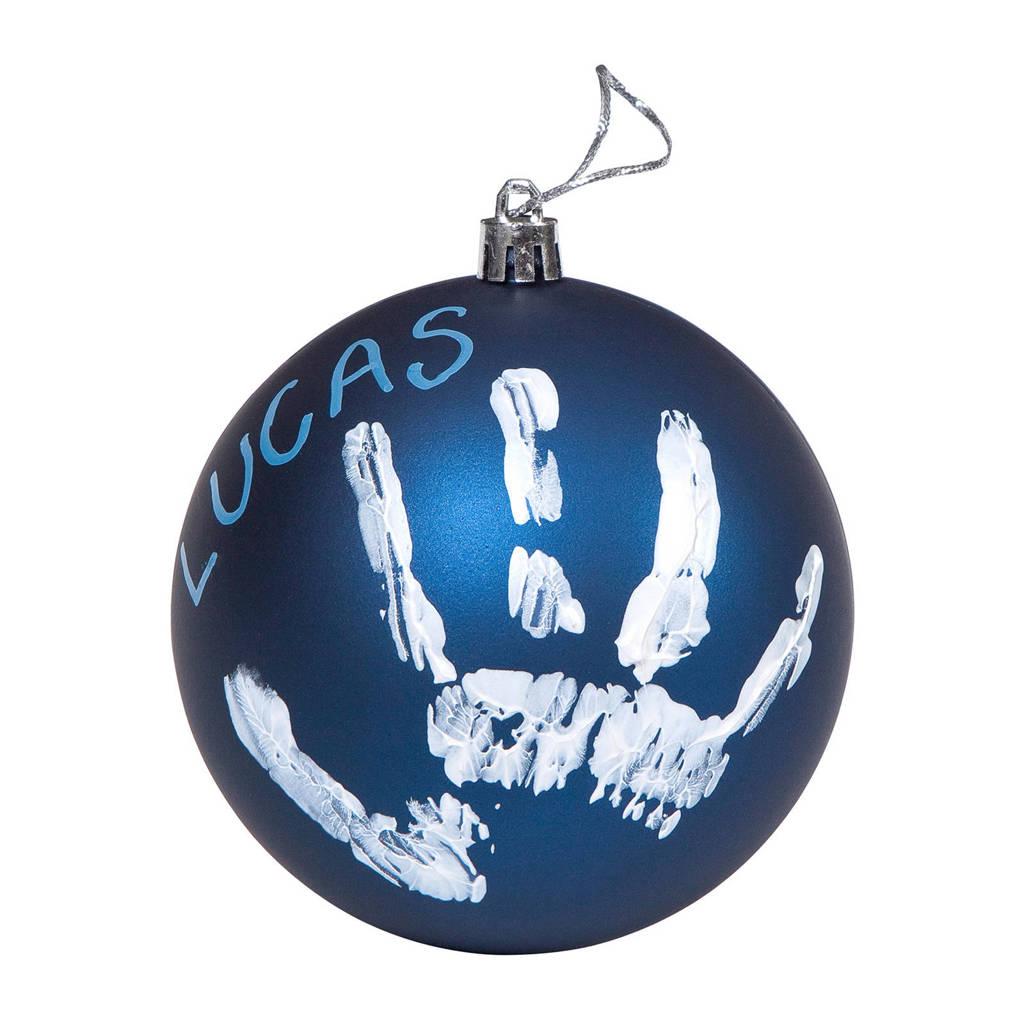 Baby Art kerstbal blauw