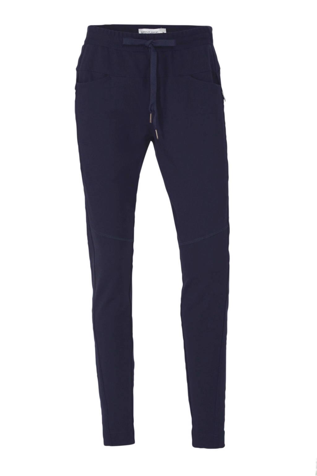 Summum Woman slim fit broek donkerblauw, Donkerblauw