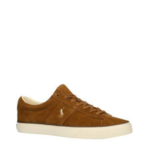 Sayer suède sneakers bruin