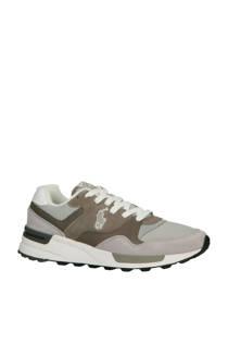 Ralph Lauren  suède sneakers grijs