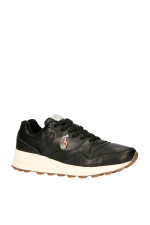 TRCKSTR PONY  leren sneakers zwart