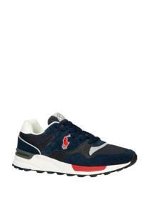 Ralph Lauren  suède sneakers donkerblauw