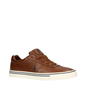 Hanford leren sneakers bruin