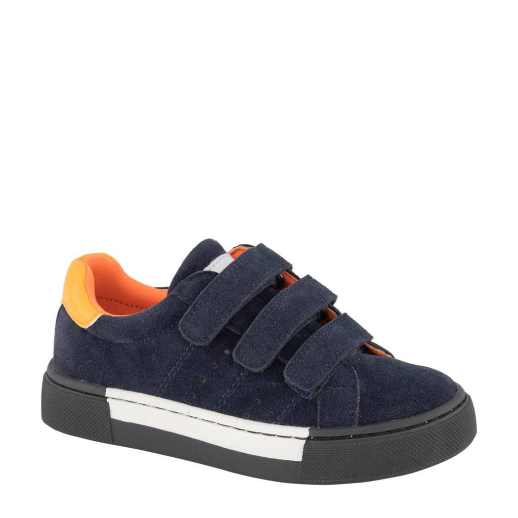 Vty  sneakers blauw/oranje, Blauw/oranje