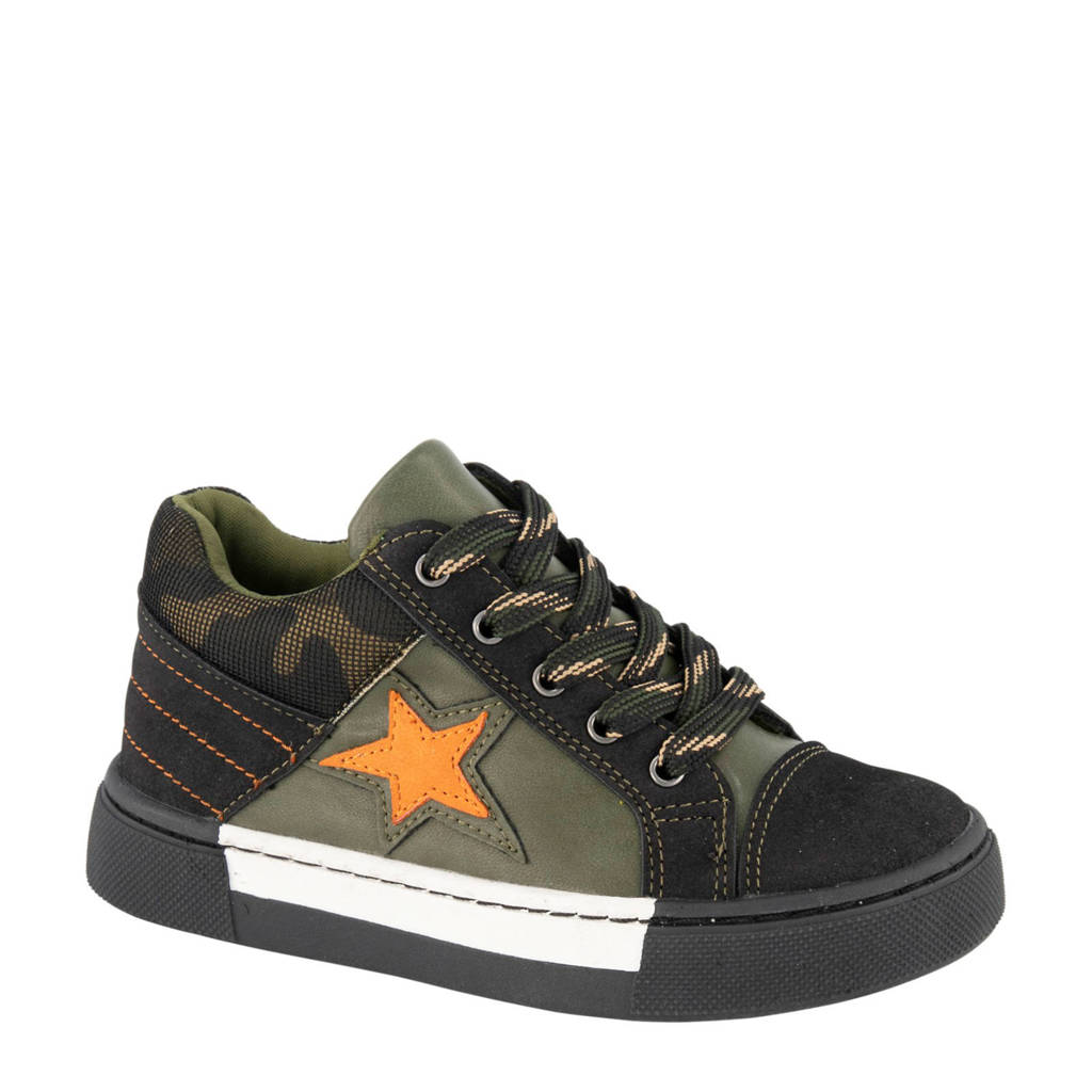 Bobbi-Shoes   sneakers groen, Groen