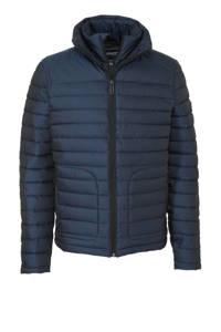 Superdry winterjas donkerblauw, Donkerblauw