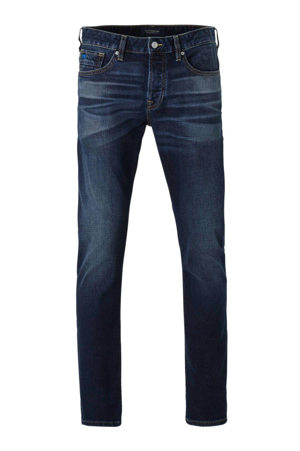 Scotch & Soda Amsterdams Blauw regular fit jeans Ralston donkerblauw 63000, Donkerblauw 63000