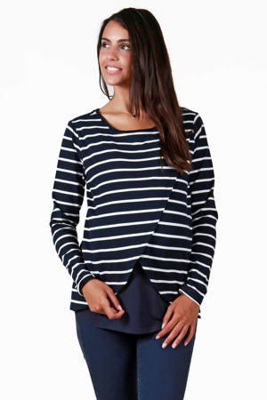 zwangerschap + voedings T-shirt