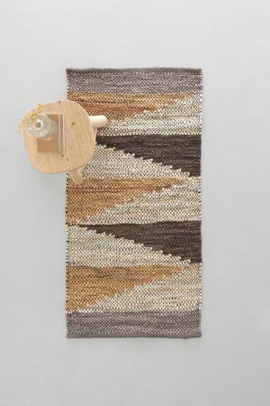 vloerkleed Sem (leer)  (120x60 cm)